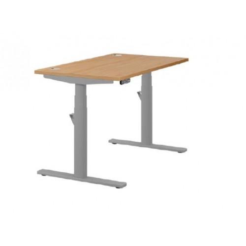 Leap Sit-Stand Desk Beech 1200x800mm