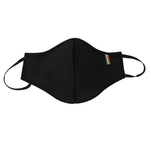 Reusable Polyester Face Mask Black