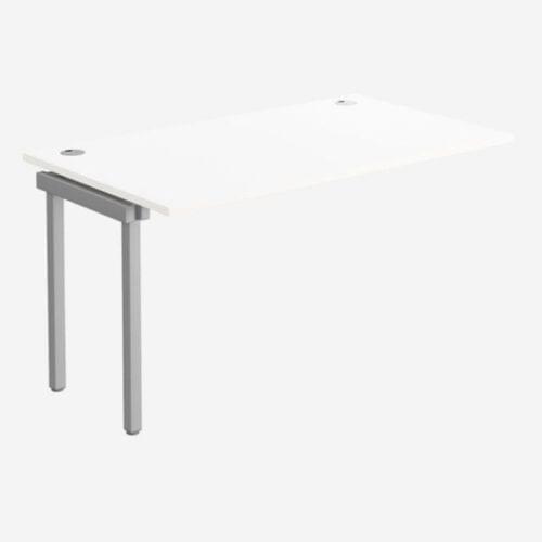C-sense 1 Person Bench Add-On Portal Top 1200 x 800 - WHT/SLV
