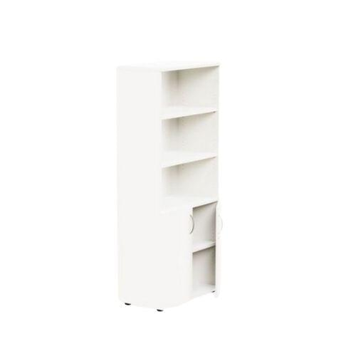 Kito 1850mm Part Open Storage - 2 Closed / 3 Open - White