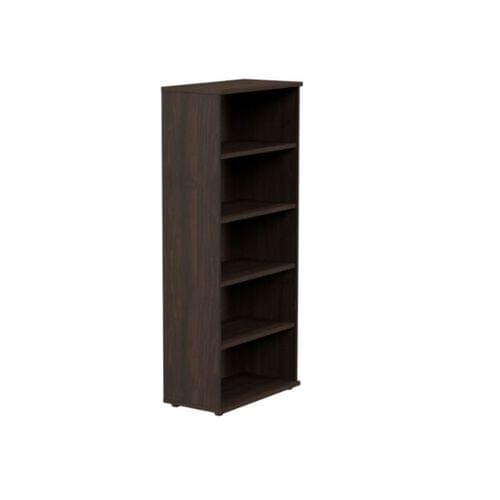 Kito Open Storage 1850mm - 5 Level Dark Walnut