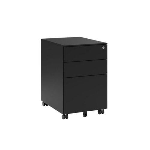 KITO - X Series Steel Ped - 390w x 520d x 600h - Black