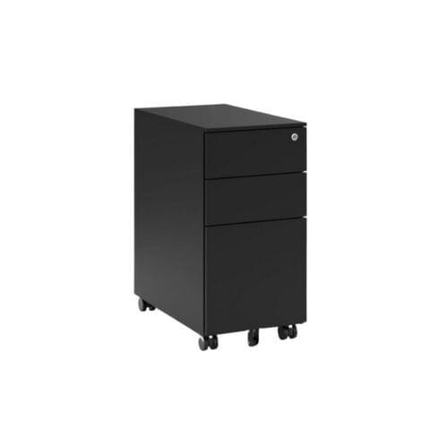 KITO - X Series Steel Ped - 300w x 520d x 600h - Black