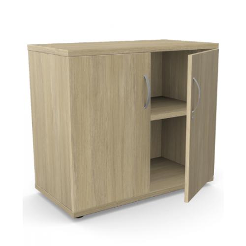 Kito Closed Storage 725mm - 1 + 3/4 Level (Desk High) - Urban Oak