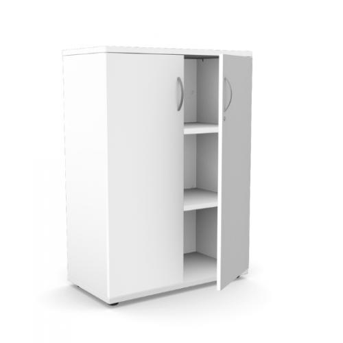 Kito Closed Storage 1130mm - 3 Level White