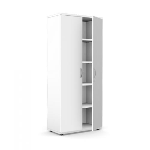 Kito Closed Storage 1850mm - 5 Level White
