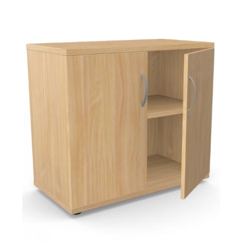 Kito Closed Storage 725mm - 1 + 3/4 Level (Desk High) - Beech