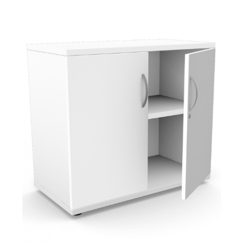 Kito Closed Storage 725mm - 1 + 3/4 Level (Desk High) - White