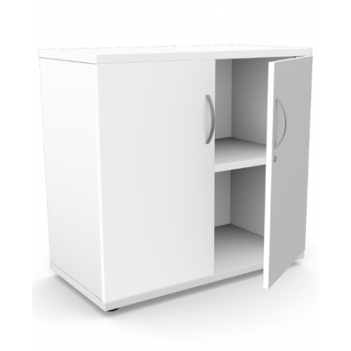 Kito Closed Storage 770mm - 2 Level - White