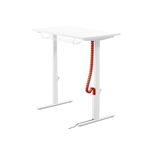 Leap Flexible Vertical Cable Chain Plastic - White