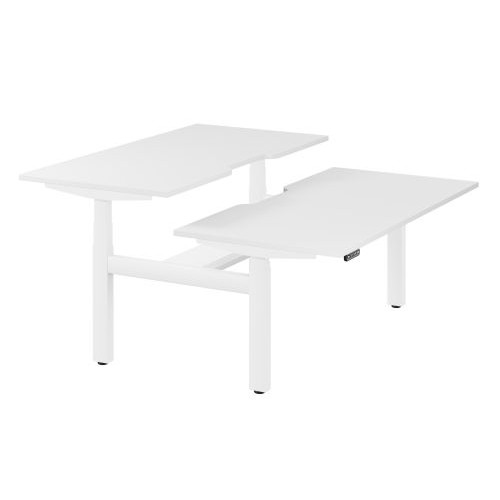 Leap Bench Frame and Desk Top With Scallop