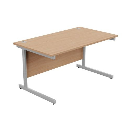 Ashford Metal Leg Straight Desk