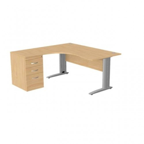 Komo Crescent Desk