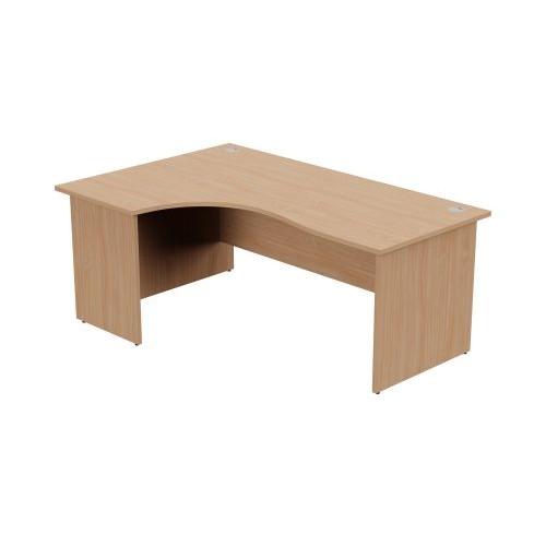 Ashford Panel Leg Crescent Desk