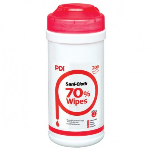 Sanicloth 70%  Disinfection Wipe Tub (Pack of 200)