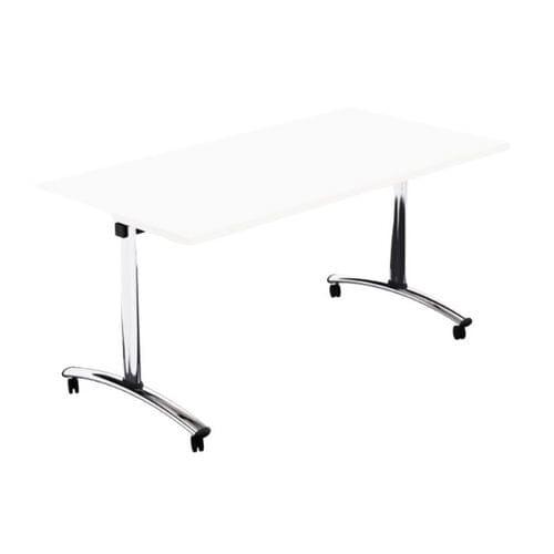 Morph Tilting Retangular Table - 1500w x 750d - White