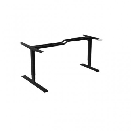 Leap Radial Z 3 Stage Electric Adjust Frame 80/50 595-1245mm w/ Handset & Cable Tray - Black