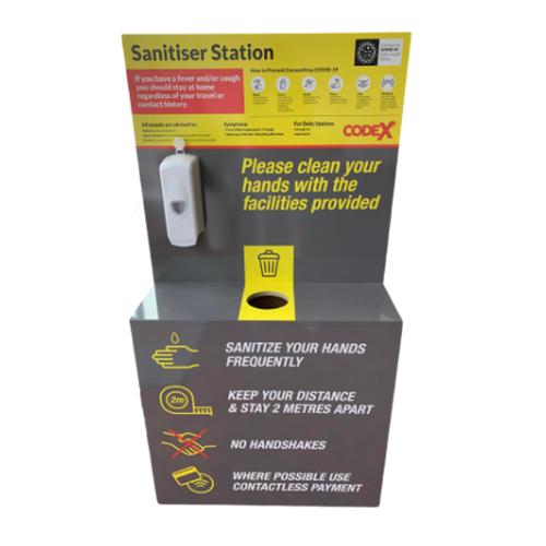 Standard Sanitising Station