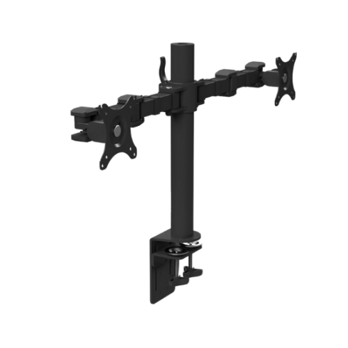 Stealth Desktop Monitor Arm DLB112 Double - Black
