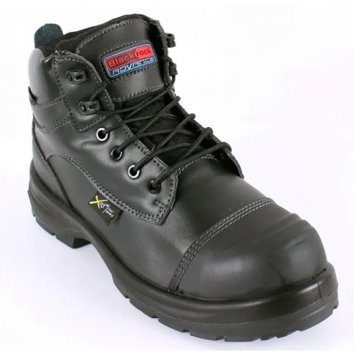 Lincoln Metasafe Boot Black Size 4