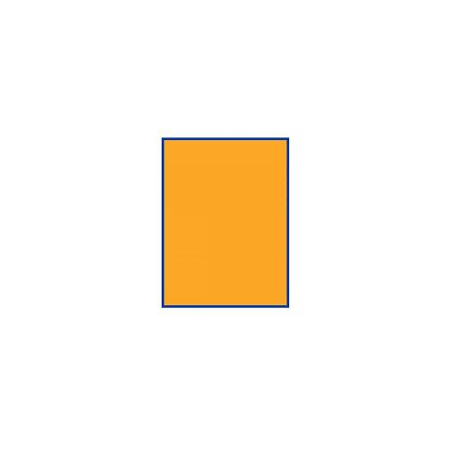 Bond Labels Fluorescent 63.5x38.1 Orange