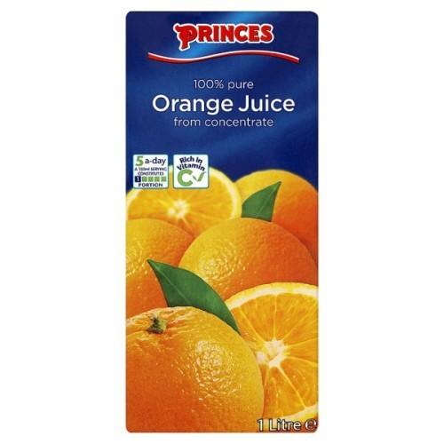 Pure Orange Juice 12 x 1L Resealable