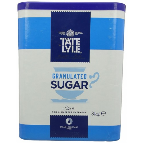 Granulated Sugar 3kg Drum
