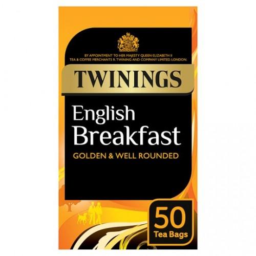 Twinings English Breakfast Tea Env 6x50
