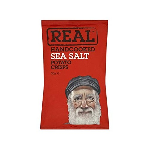 Real Crisps Sea Salt 18x50g