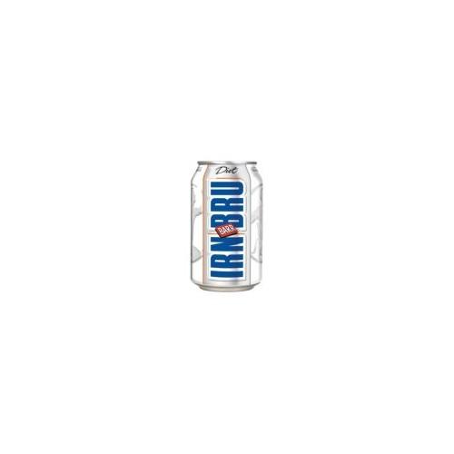 Diet Irn Bru 330ml Cans - Pk24