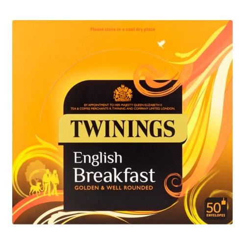 Twinings everyday individual envelope tea bags PK50