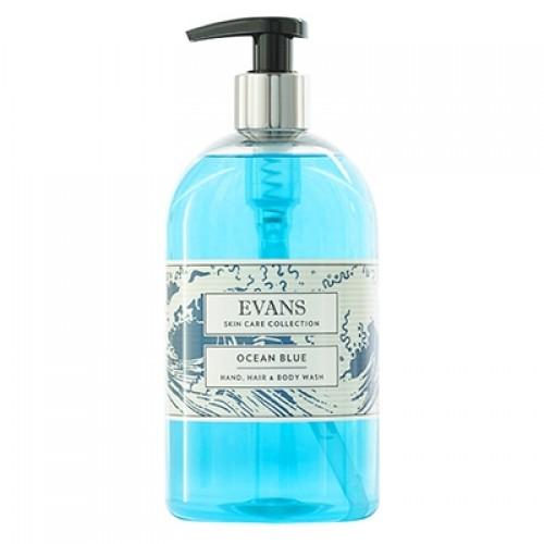 Evans Ocean Blue Soap 500ml
