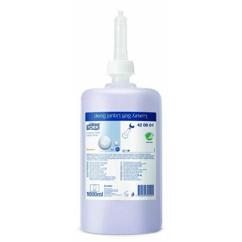 Tork Liquid Luxury Soft Soap 420901 PK6