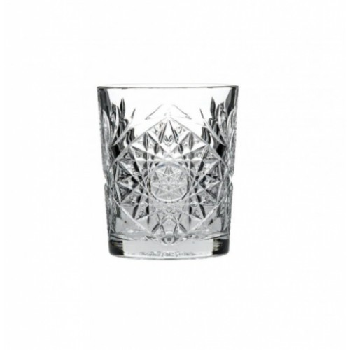 Hobstar Double Old Fashioned Glass PK12