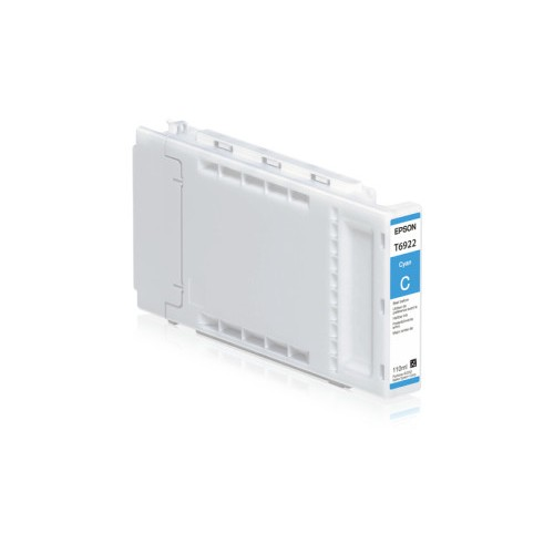 Epson T692200 UltraChrome XD Cyan Ink Cartridge (110ml) for SureColor SC-T3000/SC-T5000/SC-T7000 Large Format Inkjet Printers