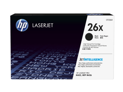 HP 26X High Yield Black Corporate Laser Toner CF226XC
