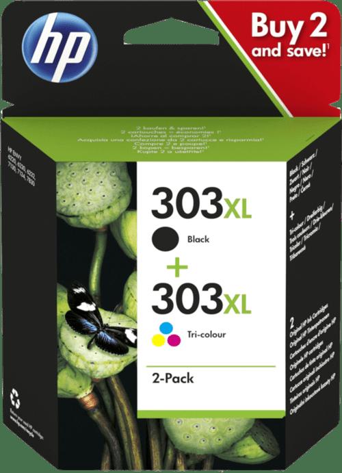 HP 303XL Combo pack Black/Colour