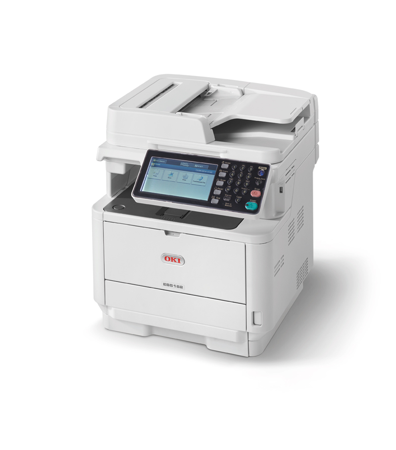 OKI ES5162dnw MFP High performance A4 mono multifunction printer for the workgroup
