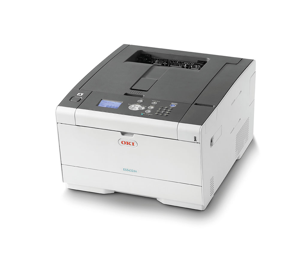 OKI ES5432dn-multi Superb print quality and solid security for small workgroups