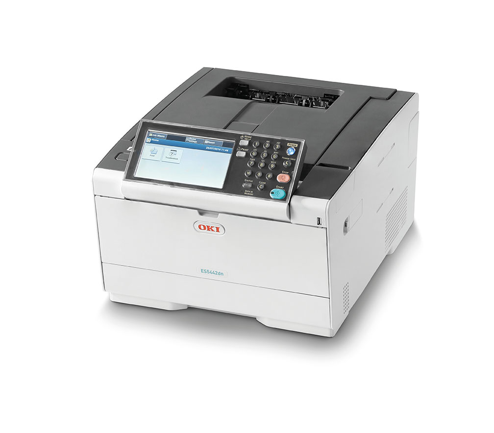 OKI ES5442dn Smart, intuitive A4 colour printing that raises the bar for small businesses and workgroups
