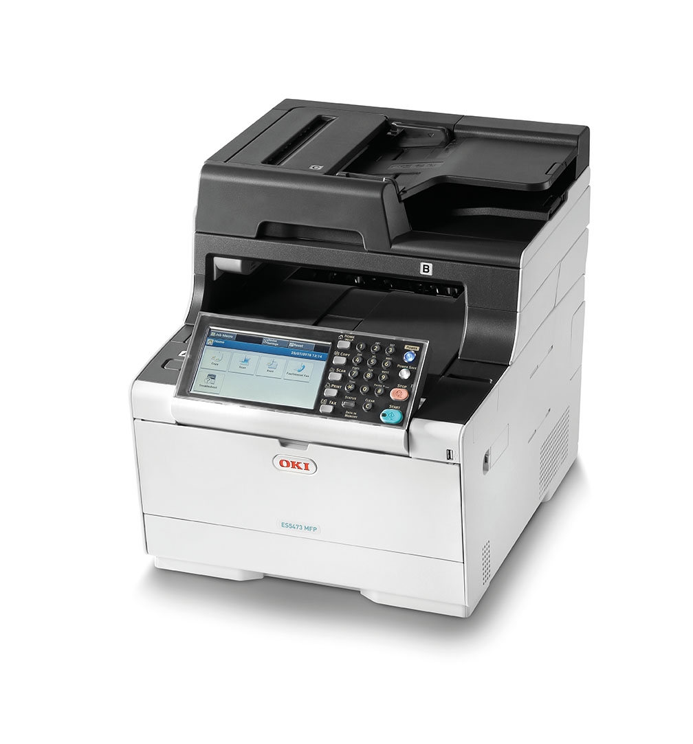 OKI ES5473dn Bringing secure document management and cost control within reach of small to medium-sized businesses and workgroups