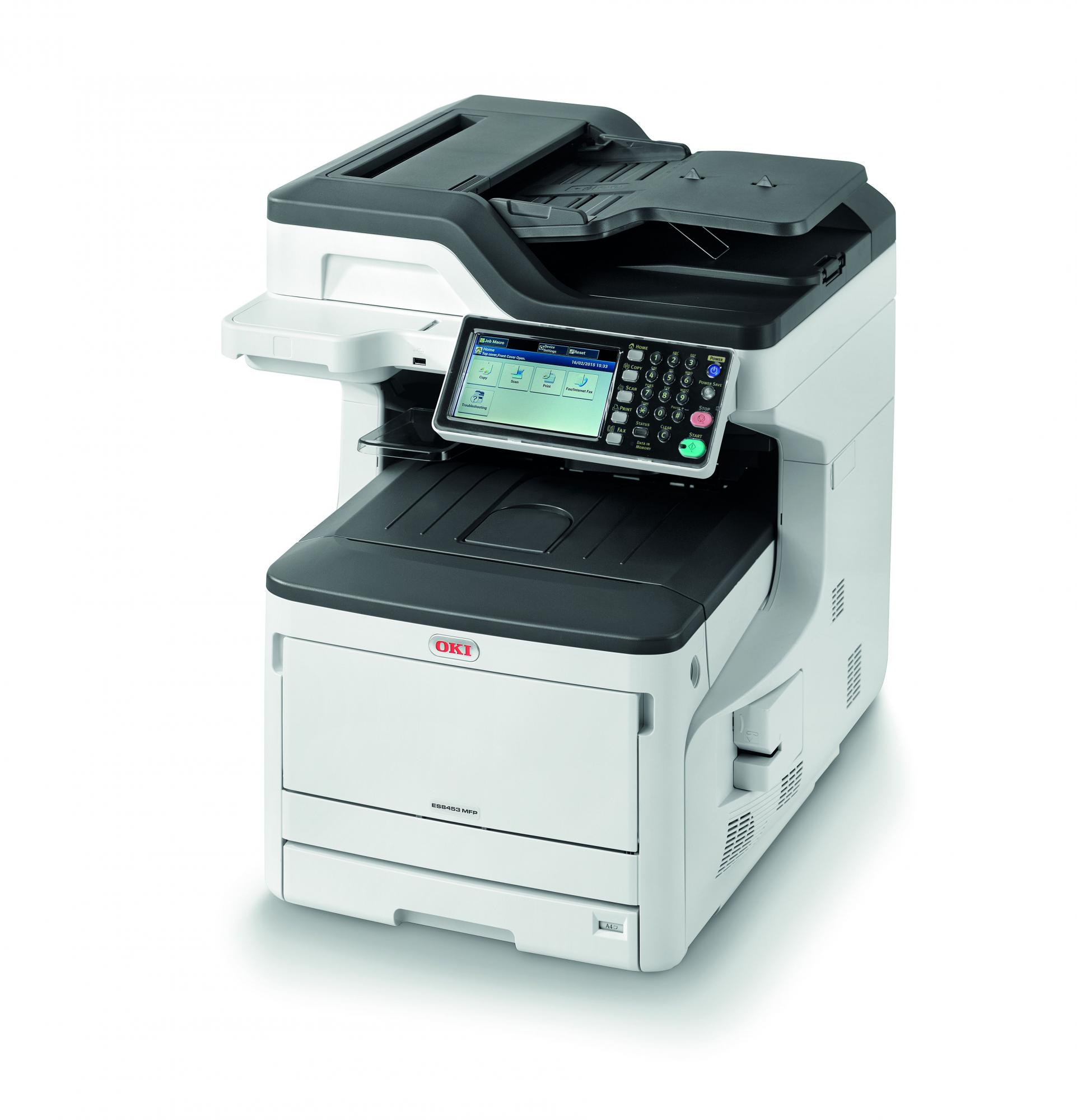 OKI ES8453dn MFP The versatile smart MFP, simple to use and seamlessly integrated into document workflow
