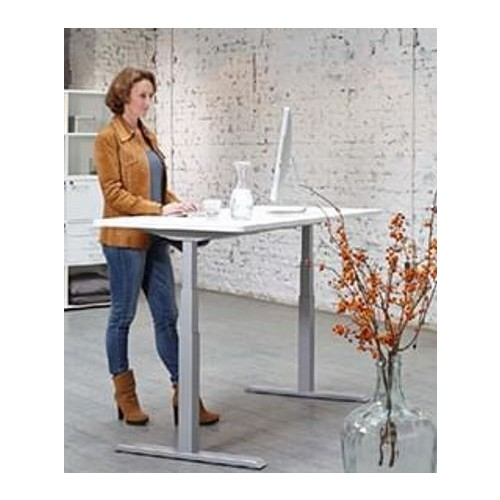 Axel Sit Stand Electric Height Adjustable desk 140 x 80cm Digital control panel with 4 preset memory positions Range from 65cm to 130cm