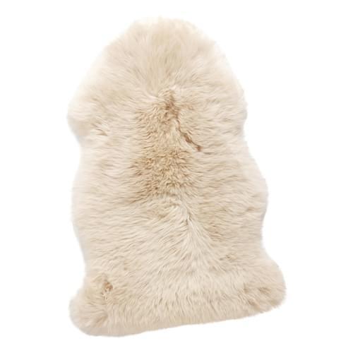 Hubsch Danish Design Sheepskin rug, shorthaired, white
