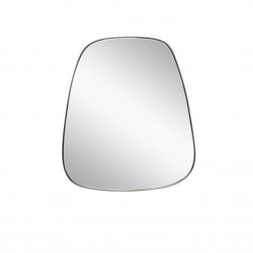 Hubsch Danish Design Mirror w/metal frame, square, trapezium