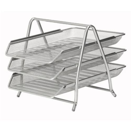 Osco Silver Wiremesh 3 Tier Tray-Assembled (ea)
