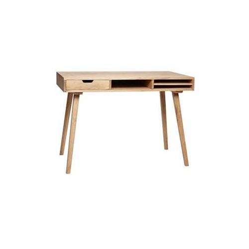 Hubsch Danish Design Desk w/compartments, oak, nature