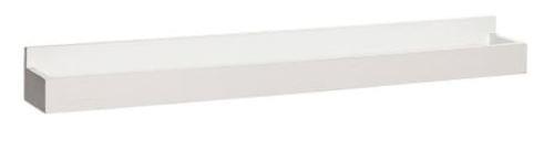Hubsch Danish Design Photo rack, wood, white, medium