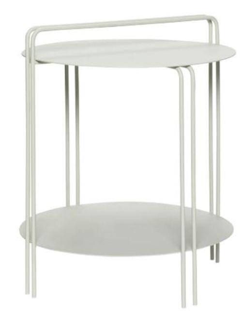 Hubsch Danish Design Table, metal, grey