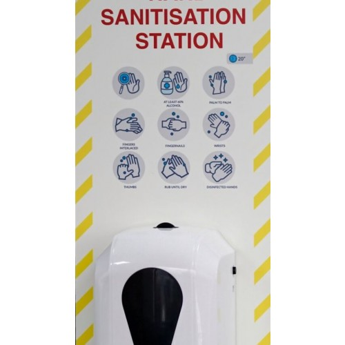 Automatic Bulkfill Hand Sanitiser Free Standing Unit